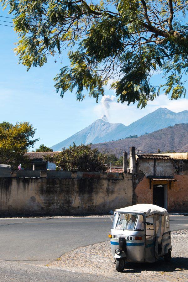 Tuk Tuk in Antigua