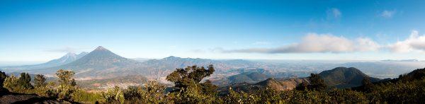 The top of Volcan Pacaya