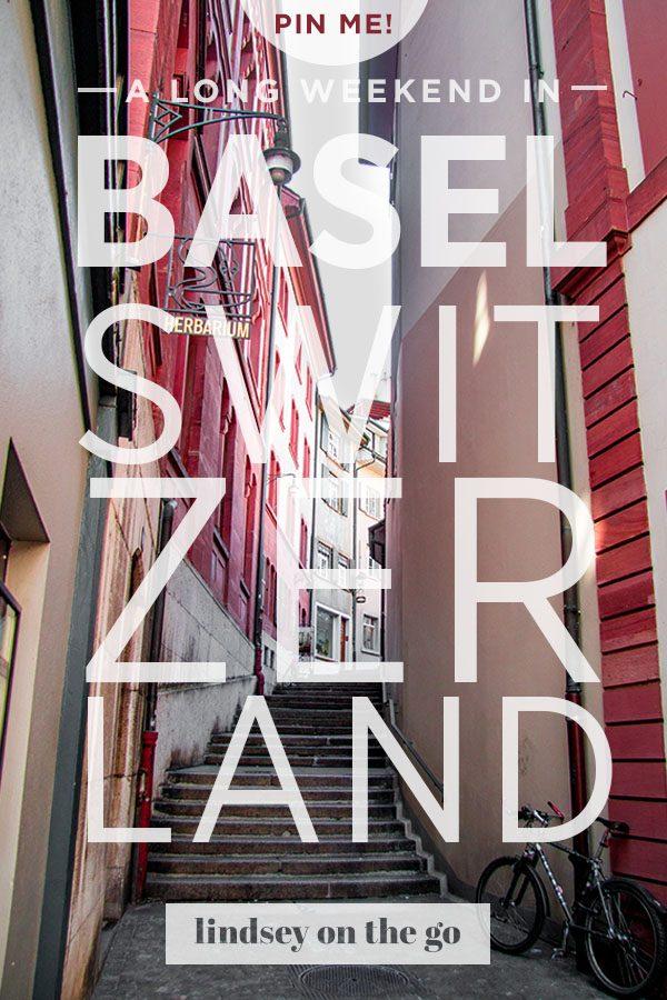 Basel, Switzerland - Lindsey On The Go