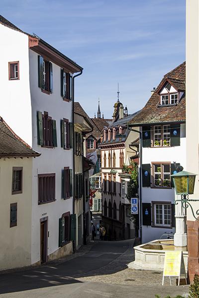 A Street In Basel