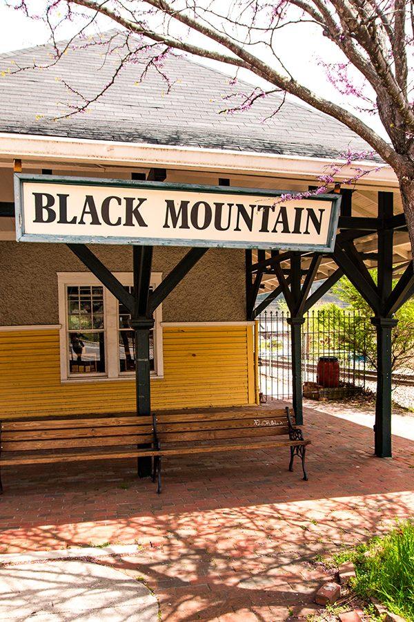 Black Mountain Train Station