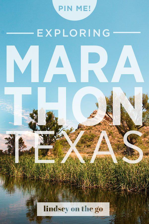 Marathon, TX - Lindsey On the Go