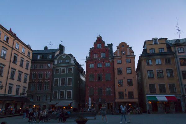 Galma Stan Stockholm at dusk