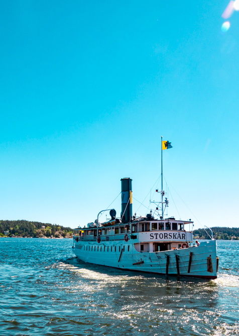 Ferry in the Stockholm Archipelago