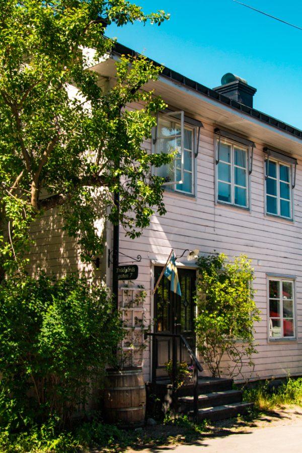 Cottages of Vaxholm, Sweden