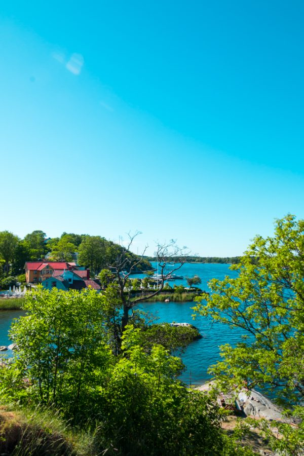 A secluded cove in Vaxholm, Sweden