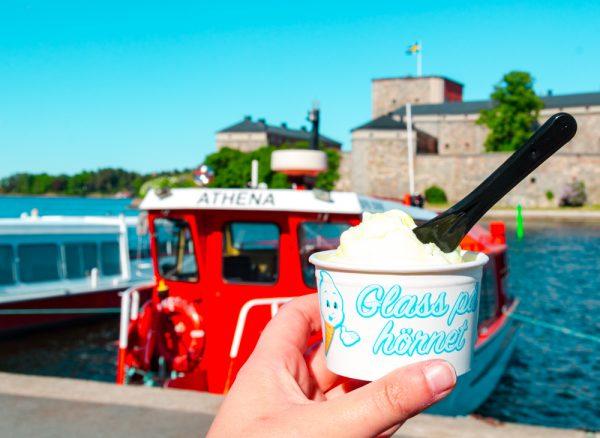 Ice Cream in Vaxholm