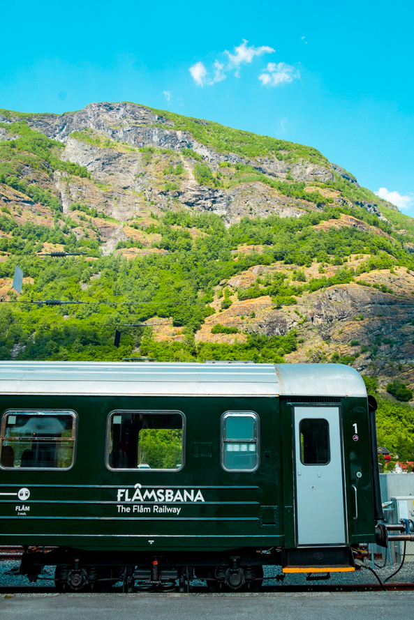 The Flam Railroad, Flam, Norway