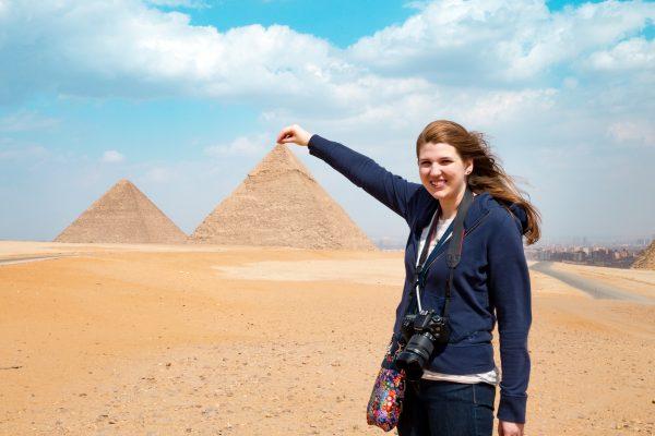 Pyramids of Giza, 2015