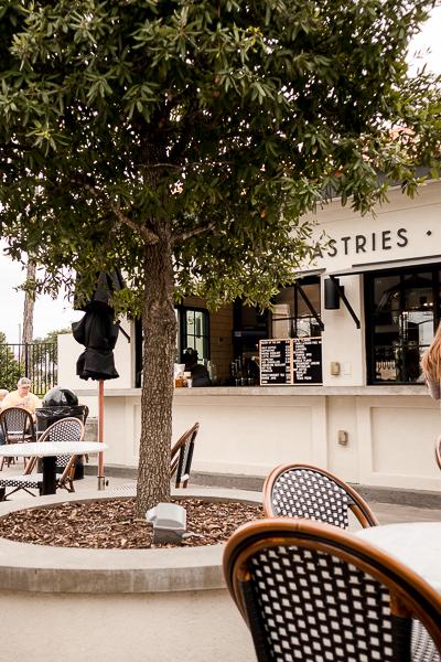 Patio at Magnolia Table in Waco, Texas