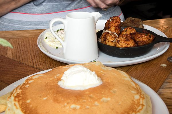 Pancakes and Tater Tots at Magnolia Table