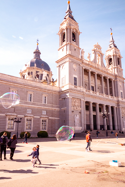 Cathedral at the Palacio Real in Madrid, Spain