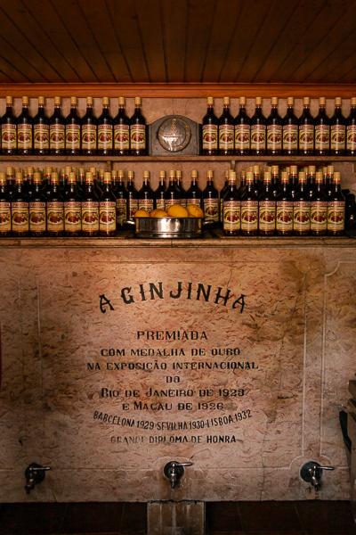 Inside of A Ginjinha